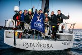 Picture of Pata Negra Sailing Yacht lombard 46 boat charter winners of SRBI race Round Britain and Ireland Race RORC winners